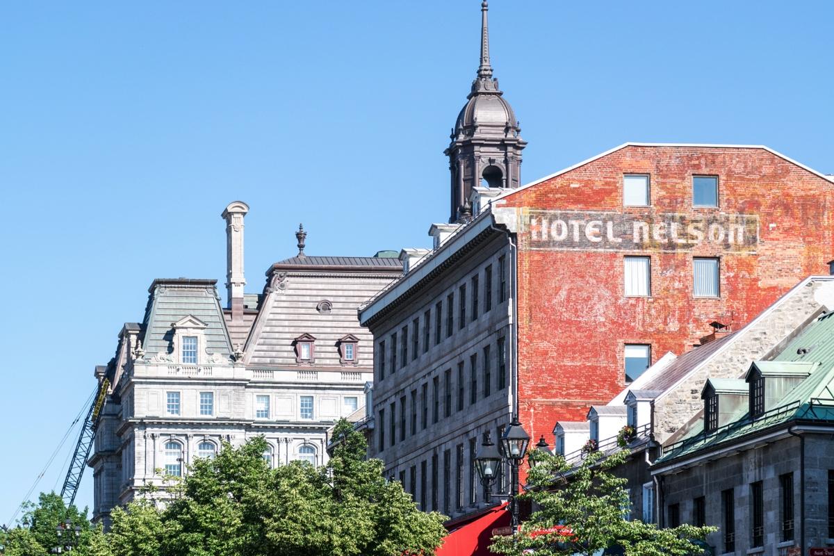 Vieux Montréal au Québec