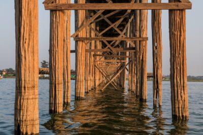 En dessous du pont U Bein