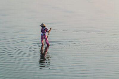 Pêche au filet