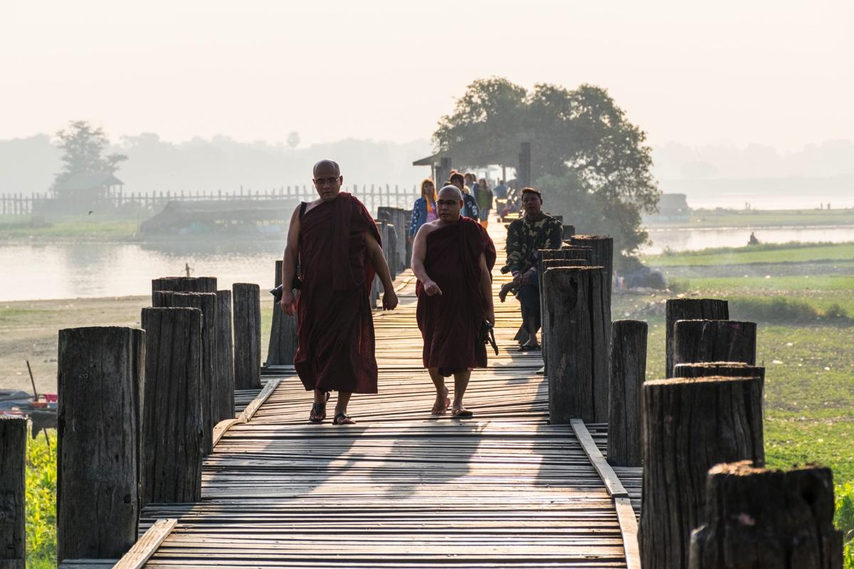 Pont de U Bein à Amarapura