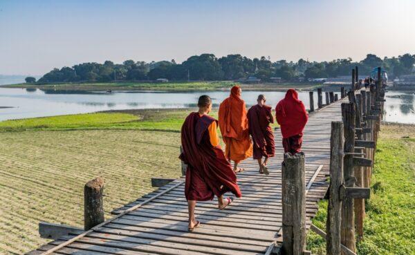 Pont U Bein, l'une des icônes de la Birmanie