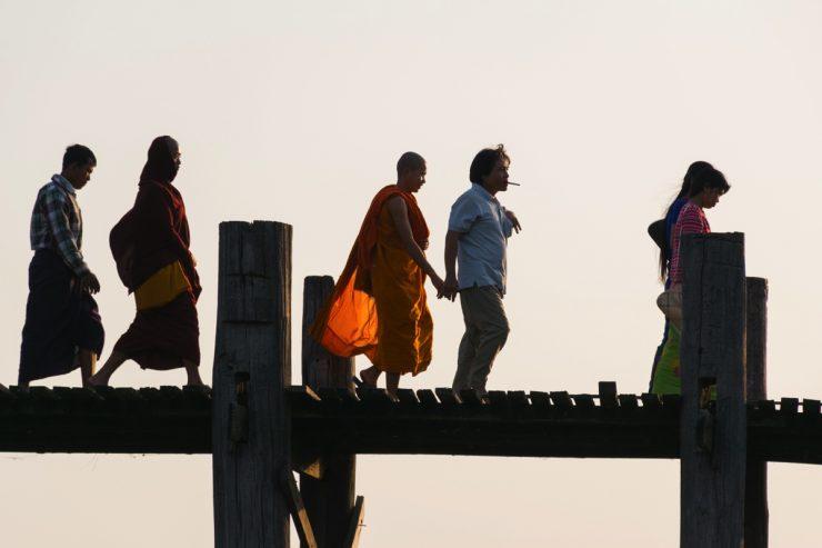 Sur le pont ...