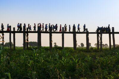 U Bein - Mandalay, Myanmar