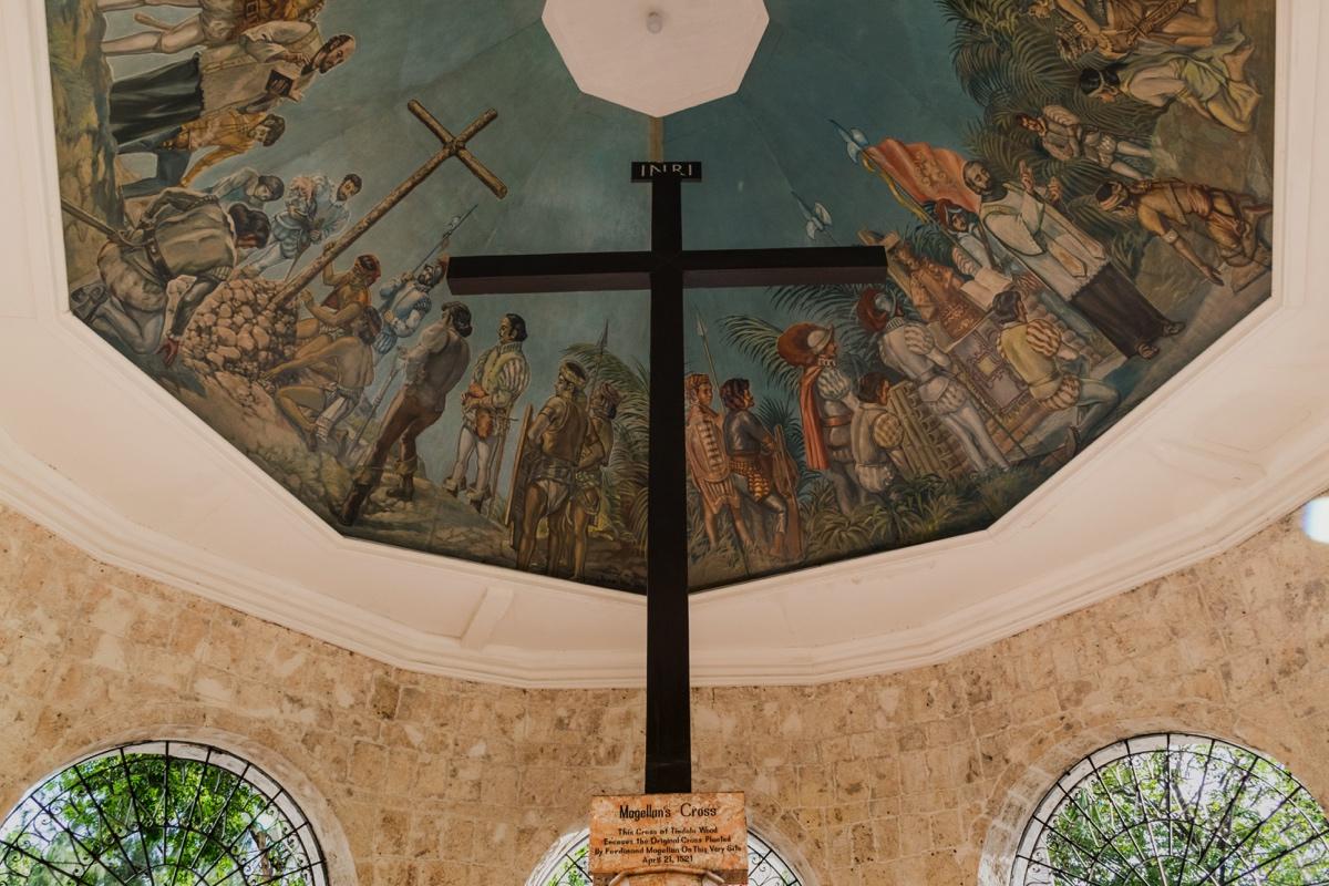 Croix de Magellan à Cebu City
