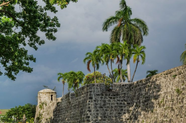 Fort San Pedro à Cebu aux Philippines