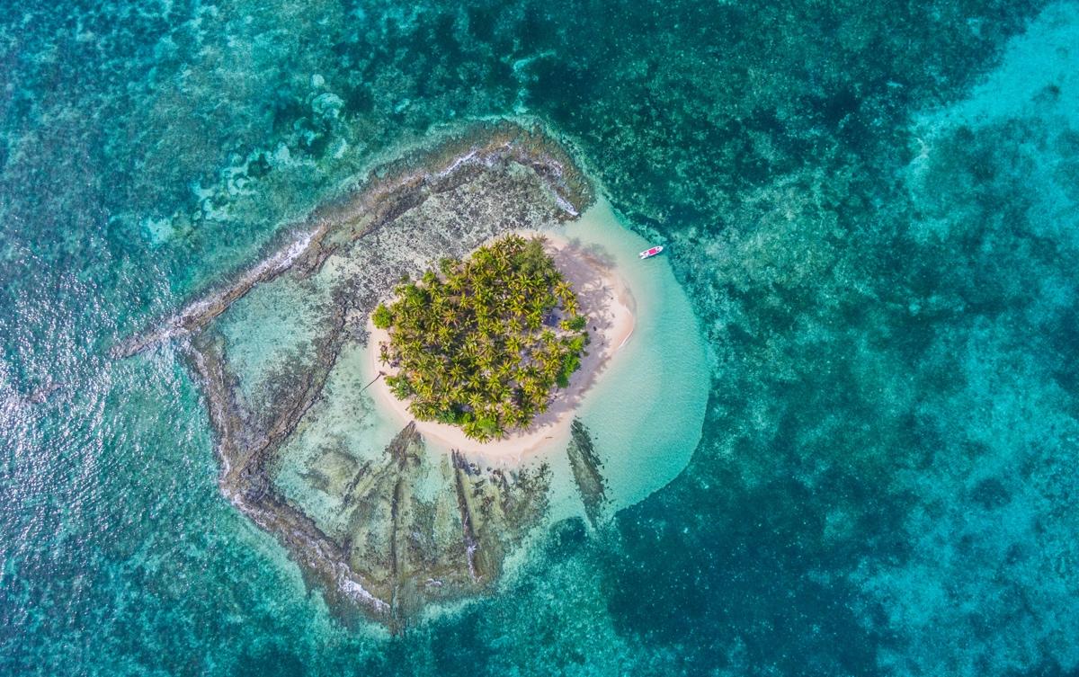 Guyam Island aux Philippines