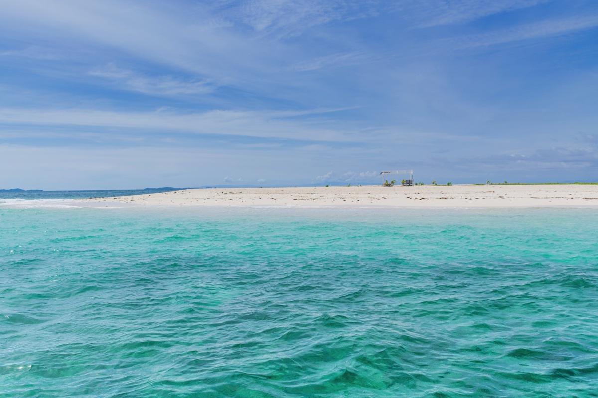 Naked Island, près de Siargao