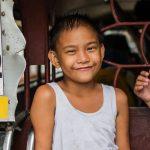 Portrait d'un enfant à Manille