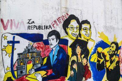 Street art à Manille