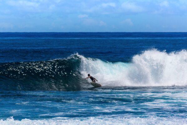 Cloud 9, spot de surf à Siargao