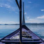 En bangka sur le lac Taal