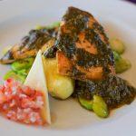 Plat au restaurant du Titilaka lodge