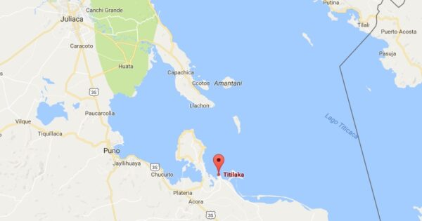 Carte du Titilaka lodge