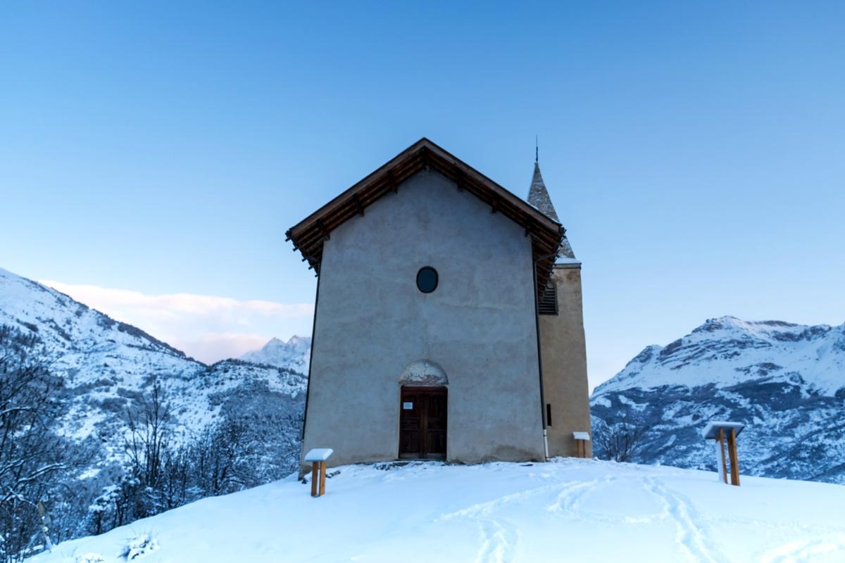 Chapelle à Puy-Saint-Vincent
