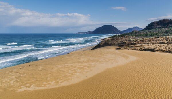 Dunes de Tottori au Japon
