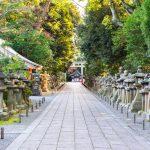 Entrée du sanctuaire Iwashimizu Hachiman-gu