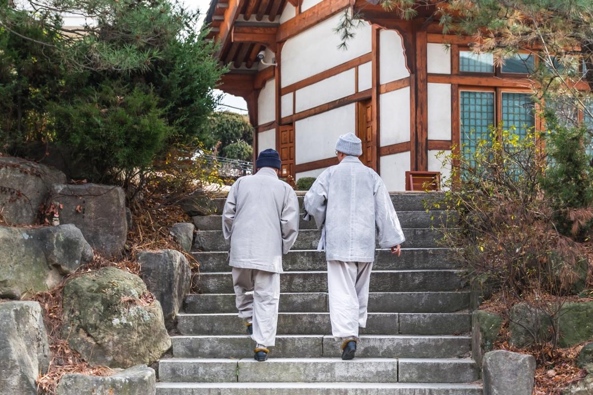 Gilsangsa temple à Séoul