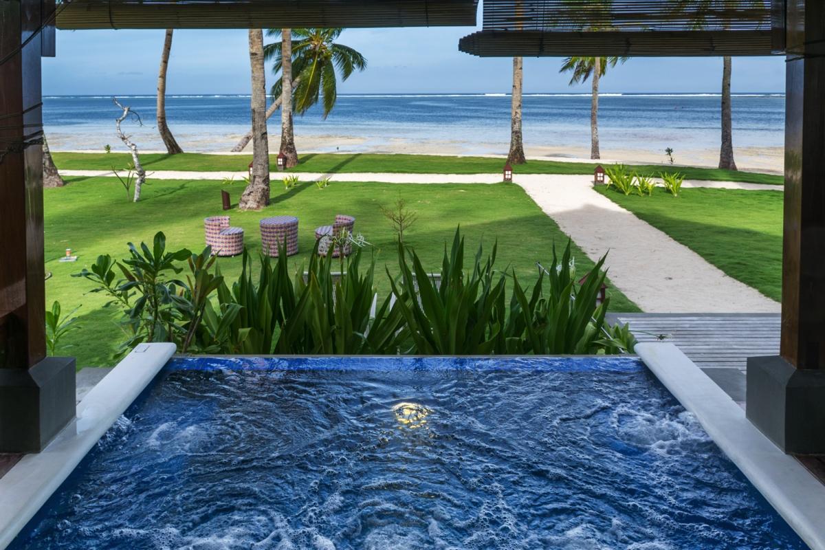 Jacuzzi privé à l'hôtel Isla Cabana