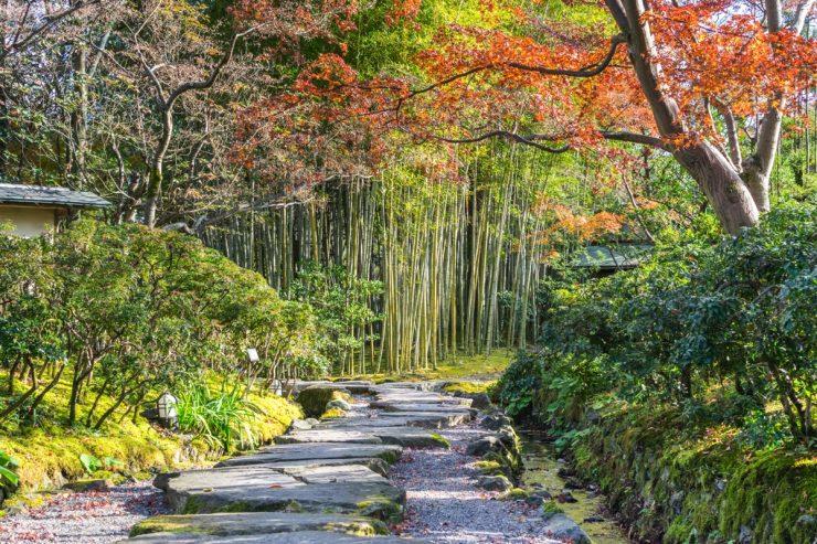 Jardin Shokado à Yawata