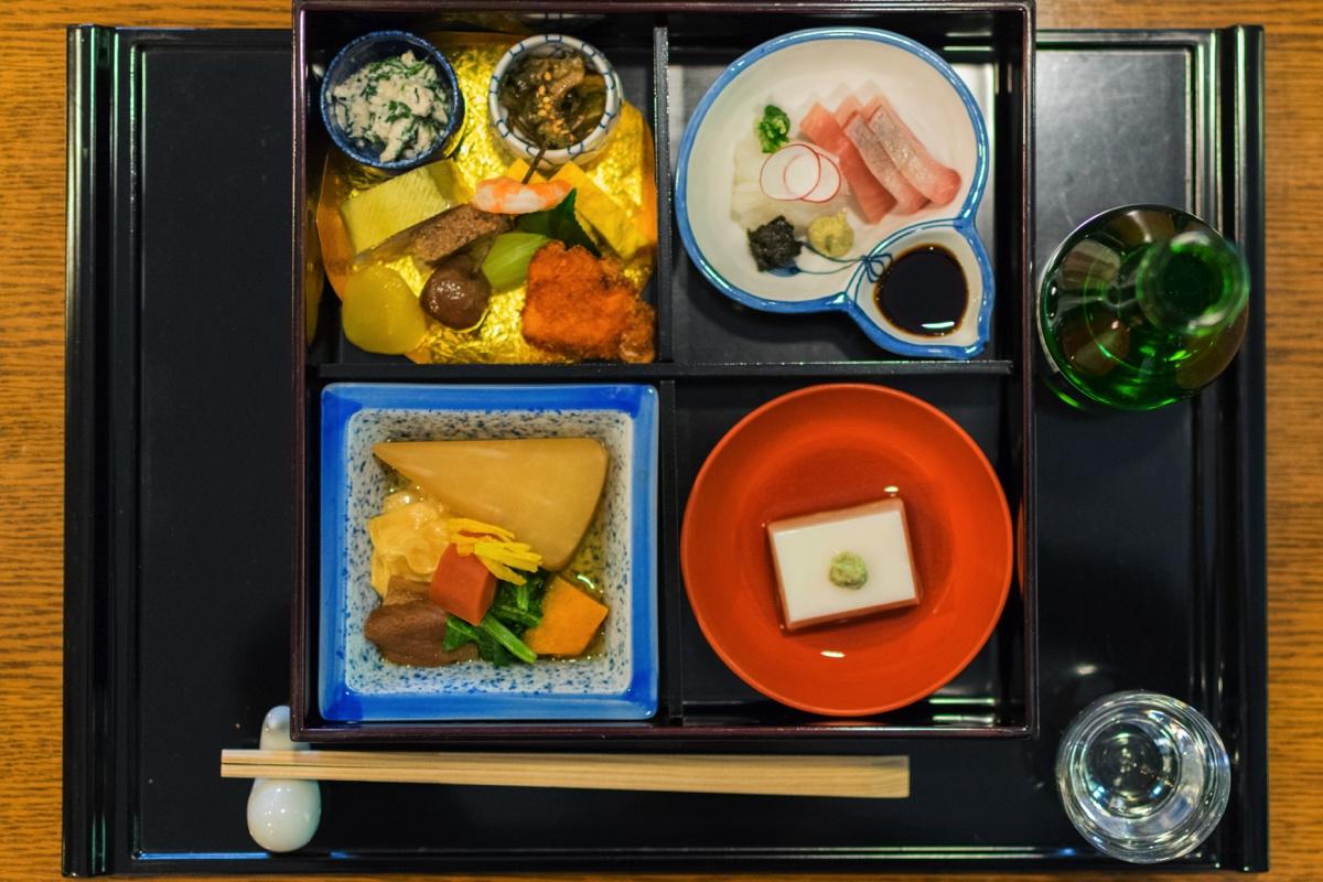 Lunch au restaurant Kitcho de Yawata