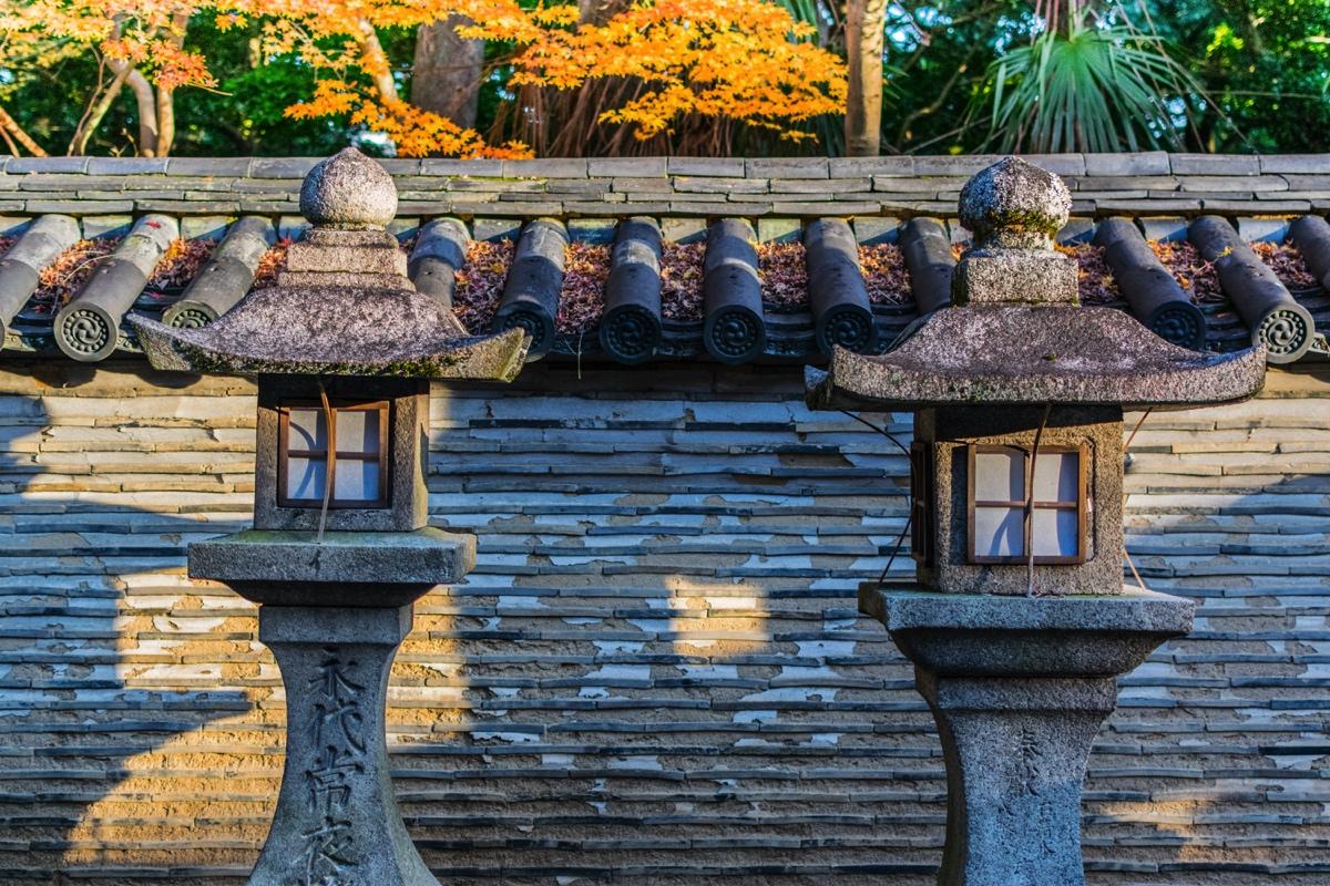 Lanterns - Iwashimizu Hachiman-gu shrine