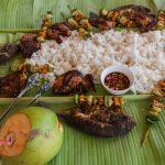 Lunch sur Dako Island