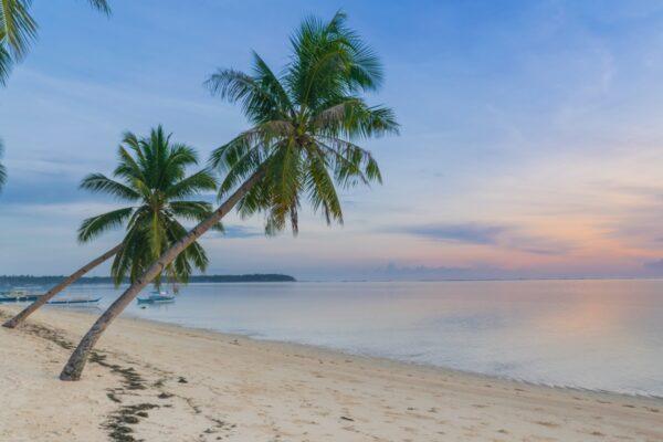 Plage de l'hôtel Isla Cabana à Siargao