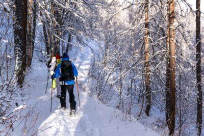 Randonnée en raquettes dans les Hautes-Alpes