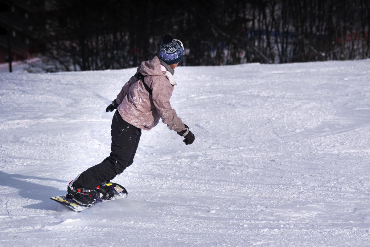 Snowboard à Puy-Saint-Vincent