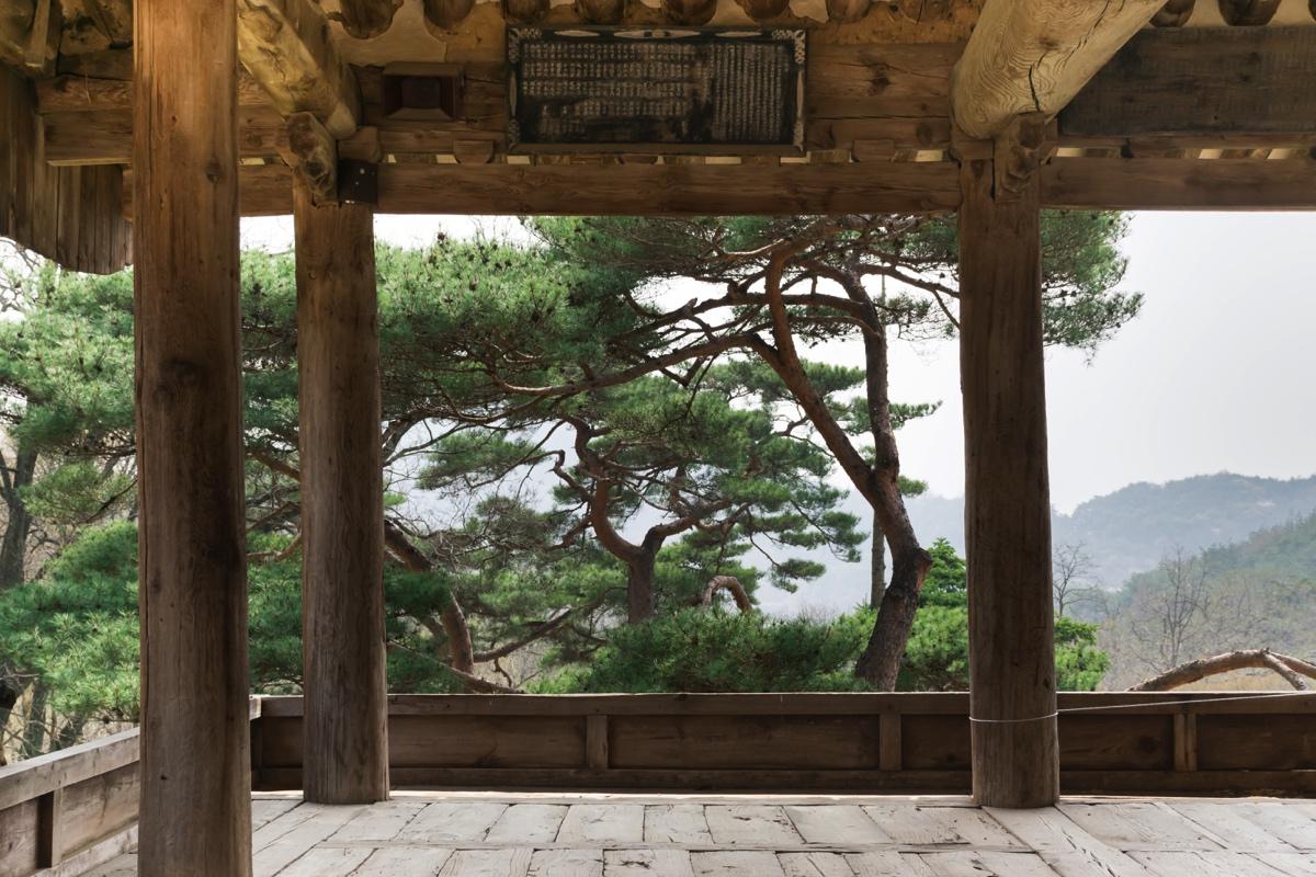 Temple Bongjeongsa en Corée du Sud