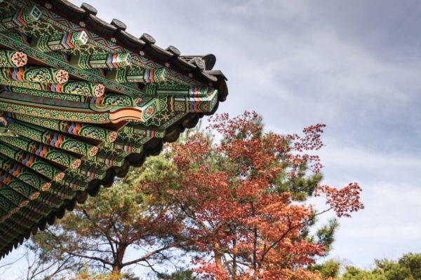 Temple bouddhiste à Séoul