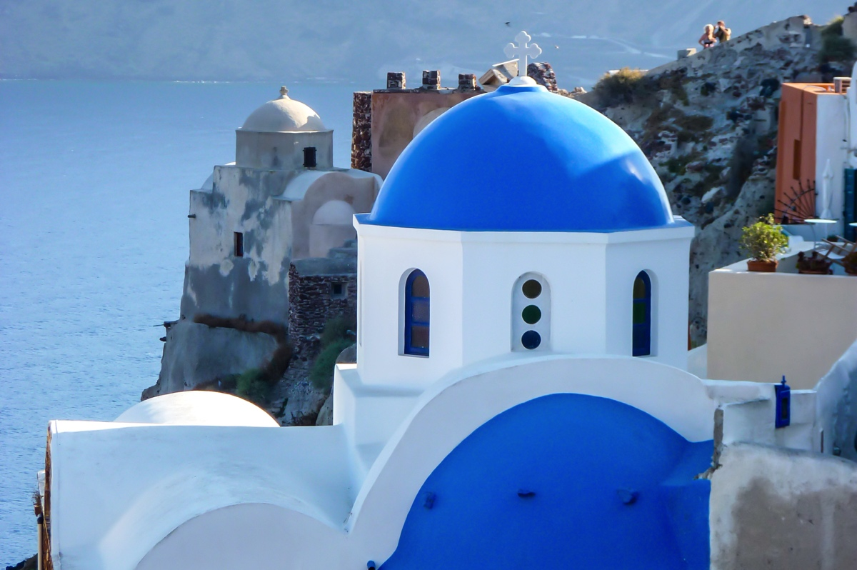 Chapelle orthodoxe à Oia - Santorin