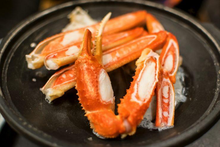 Crabe à Kinosaki