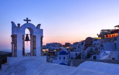 Crépuscule à Oia - Santorin
