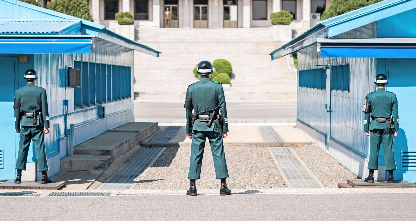 DMZ en Corée du Sud