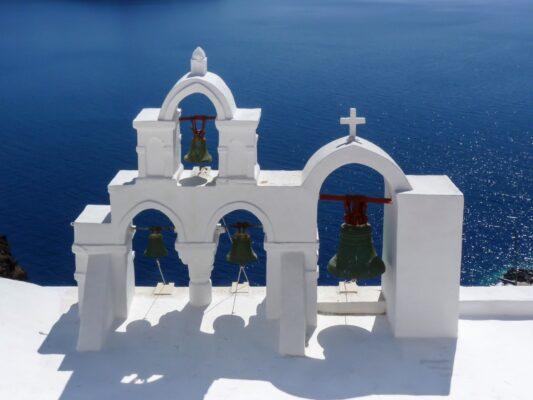 Eglise orthodoxe à Oia
