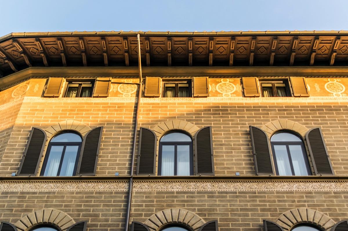 Façade de l'hôtel Cerretani Florence