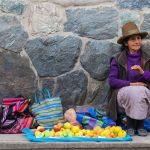 Marché d'Ollantaytambo au Pérou