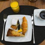 Petit déjeuner à l'hôtel Cerretani Florence