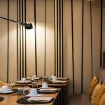 Salle du petit déjeuner / restaurant de l'hôtel Cerretani Florence