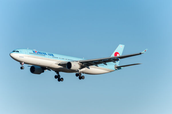 Vol vers Séoul