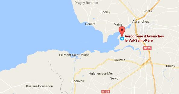 Plan de l'aérodrome du Mont-Saint-Michel