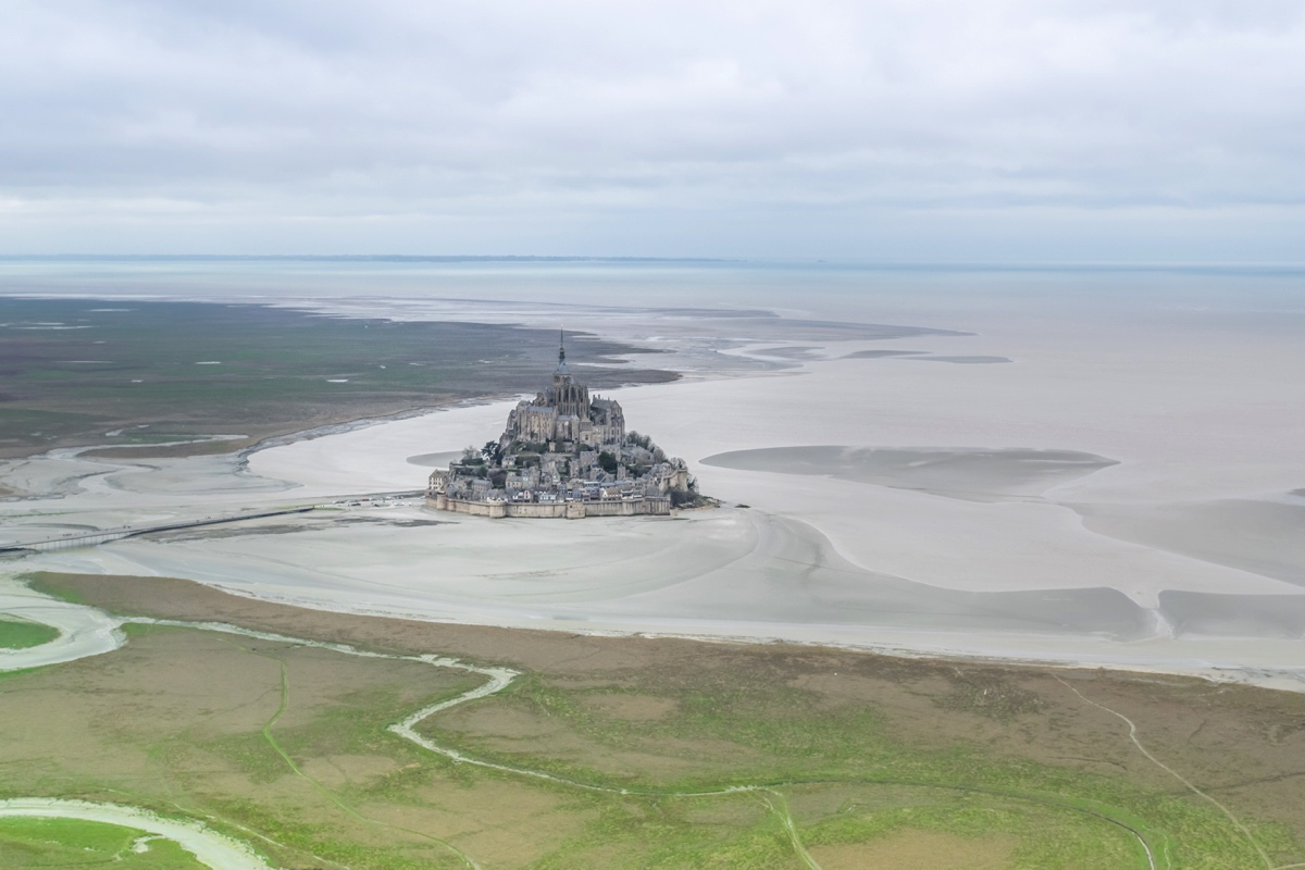 Vol en ULM au Mont-Saint-Michel