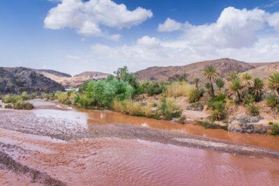 Oued Dadès près du village de Sidi Flah