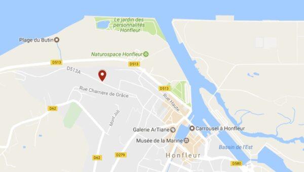 Plan Ferme Saint Siméon à Honfleur