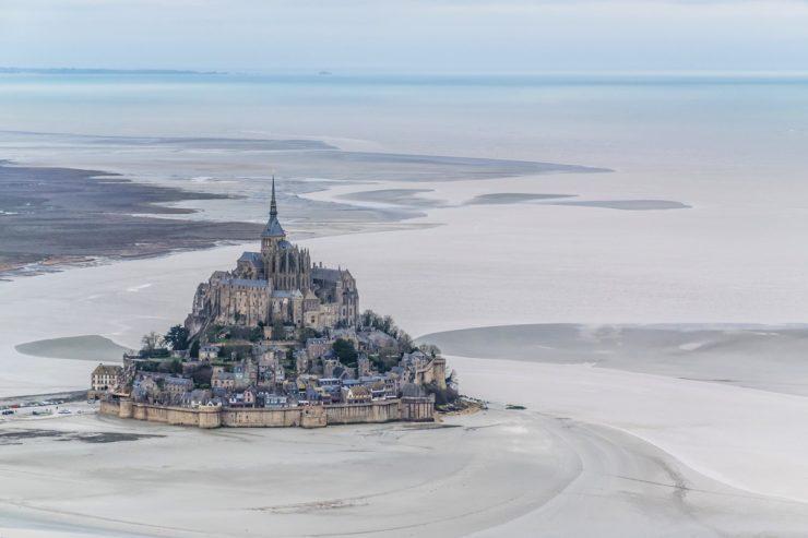 ULM au Mont-Saint-Michel