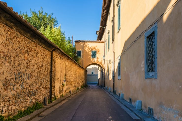 Une rue à Pise