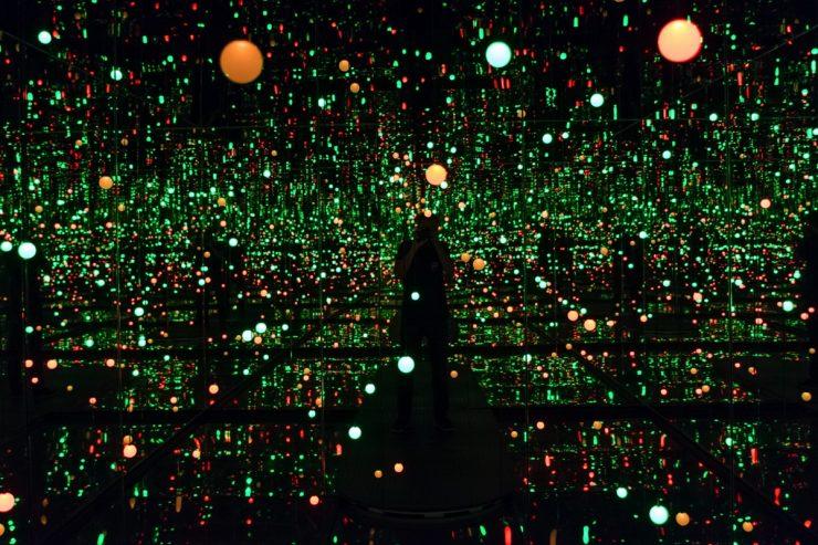 Gleaming lights of the souls par Yayoi Kusama