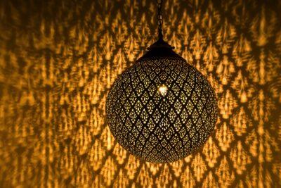 Luminaire traditionnel marocain
