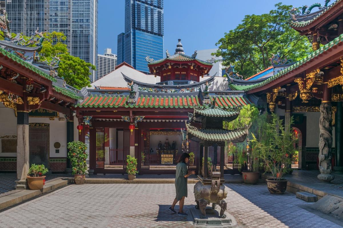Un temple dans Chinatown